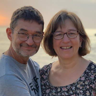 Les volontaires du SME - Annelise et Eric