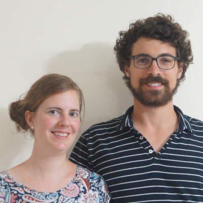 Les volontaires du SME - Melvina et Nicolas