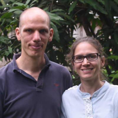 Les volontaires du SME - Monika et Arnold