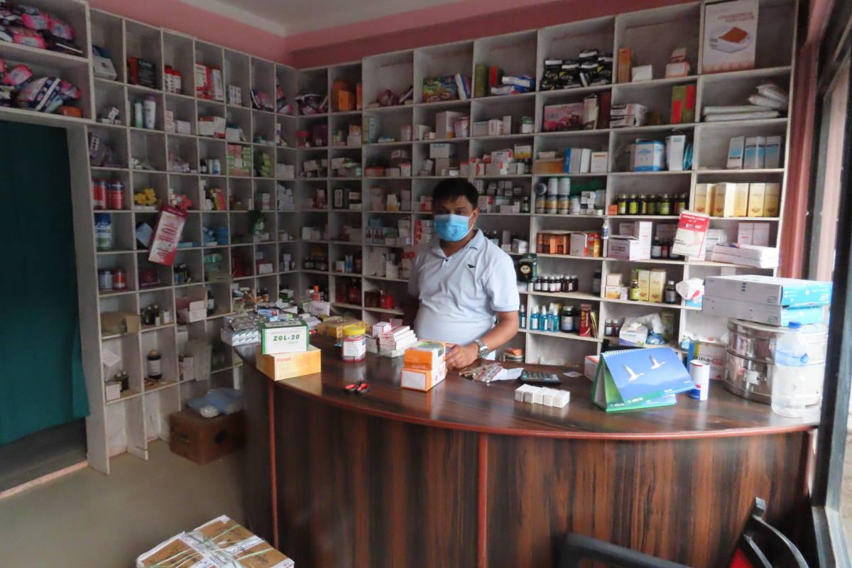 SME - Pharmacie Népal